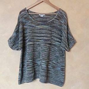 green oversized sweater top size 1x